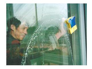 玻璃 地面 窗帘 外墙清洗服务