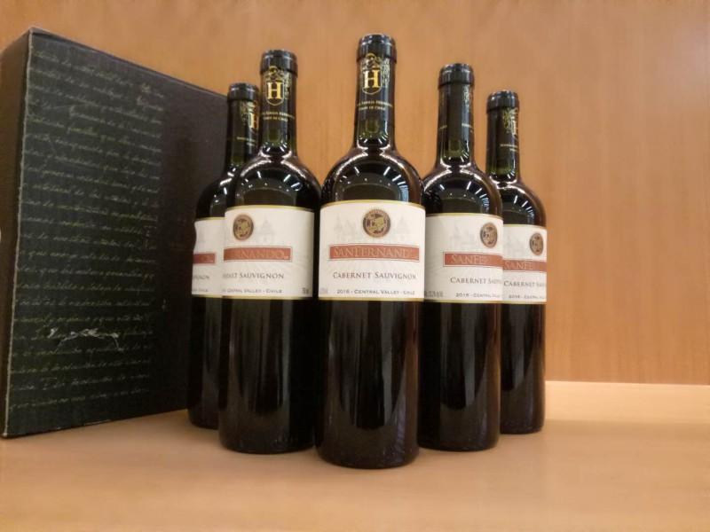 智利圣费尔南多赤霞珠干红葡萄酒