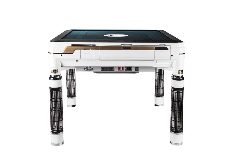 餐桌式取暖麻将机白色