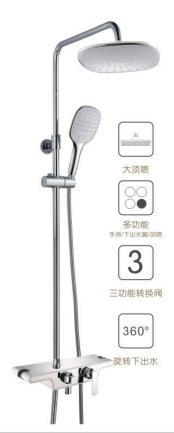 苹果王大淋浴柱花洒 PG90072