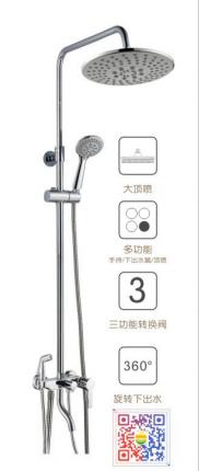 苹果王大淋浴柱花洒 PG90074