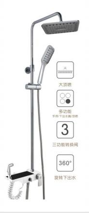 苹果王大淋浴柱花洒 PG90079