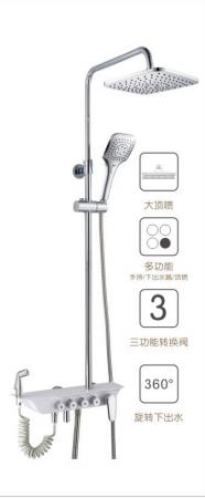 苹果王大淋浴柱花洒  PG90086