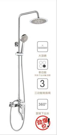 苹果王大淋浴柱花洒  PG90106