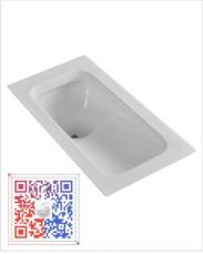 苹果王陶瓷系列蹲便器   PG1420-1
