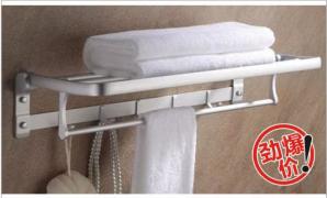 苹果王五金挂件系列活动浴巾架  PG12216