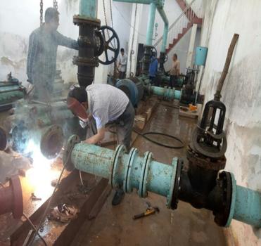 海南东方泵站水泵维修-城镇供水设施故障排查 保障供水管网正常运行