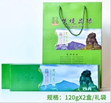 梵茶条装绿珠茶120克