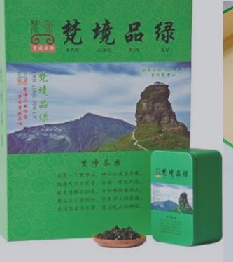 梵茶礼盒装绿珠茶500g