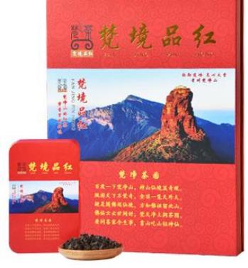 梵茶礼盒装红珠茶500g
