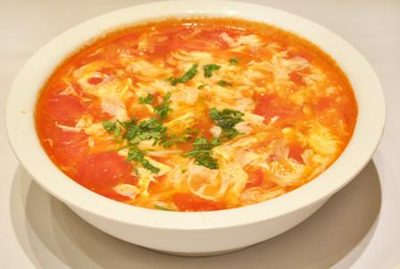 西红柿泡蛋汤